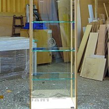全一 玻璃展示櫃  展示櫃  公仔櫃.精品展示櫃.LED玻璃展示櫃.美甲櫃.皮包櫃.商品櫃.樂高展示櫃.訂做 A款