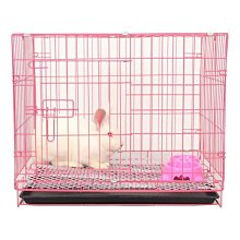 兔籠子加密兔子籠中號兔籠家用運輸籠特大號不防噴尿室內特價兔籠