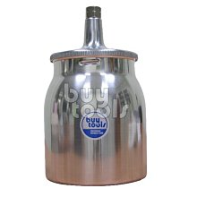 BuyTools-Spray Gun CUP 下吸式氣動噴槍杯油漆杯 700cc,全鋁製加厚,透氣孔設計,台灣製「含稅」