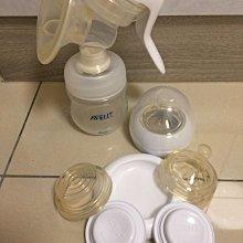 ☆╮PRiNcEsS-Mine╭☆ Philips Avent新安怡親乳感手動吸乳器+配件含奶瓶╭☆擠乳器Hagen