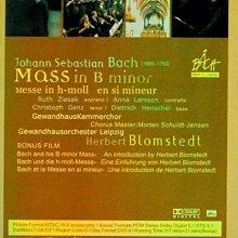音樂居士#BACH Mass in B minor 巴赫:B小調彌撒 赫伯特指揮 D9 DVD