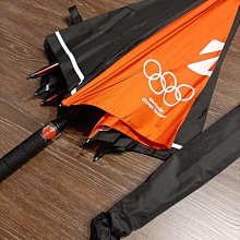 普利司通 高爾夫球傘 Bridgestone golf Umbrella 黑橘混色 雨傘 遮陽傘 25吋 奧運紀念版 自動式開傘 長91cm 全新品未使用 正品