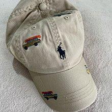 Polo Ralph Lauren by Polo 卡其色polo car 刺繡 polo小車圖案棒球帽 美國官網購入 全新正品 現貨在台