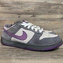 Nike Dunk Low Pro 經典 復古 耐磨 低幫 白灰紫 休閒 運動 滑板鞋 304292-051 男女款