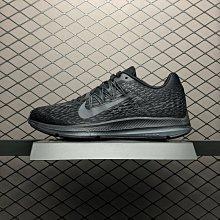 Nike Zoom Winflo 5 耐克 黑 網面透氣 氣墊 休閒運動 慢跑鞋 AA7406-002 男
