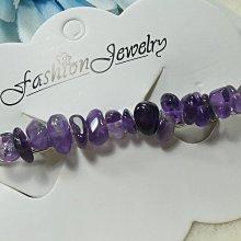 ♥精品百貨♥ 漂亮天然單層紫水晶髮飾/一字夾/~現貨