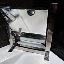 【信義計劃】 設計師 藝術 鏡子 不鏽鋼桌鏡立鏡化妝鏡 隨身鏡掛鏡 手工眼鏡 薄鋼鈦金屬 濾藍光 抗藍光 太陽眼鏡 贈品