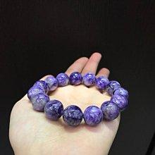 天然紫龍晶(14mm)