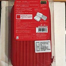 毛毛的窩 3DSLL 強化主機硬殼包包 (日本公司貨)紅色~保證全新未拆封