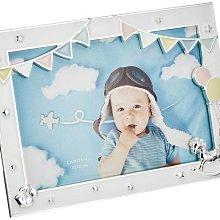 日本Ladonna Baby系列 純真夢想 4x6金屬白色相框/ MB98-P