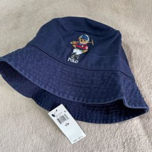 Polo bear  Ralph Lauren by Polo 深藍色漁夫帽 水桶帽 遮陽帽 S/M小頭圍尺寸 美國官網購入 全新正品 現貨在台