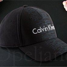 CK Calvin Klein Hat 卡文克萊黑棒球帽 數位LOGO 防曬遮陽帽高爾夫球帽可調整帽圍 愛Coach包包