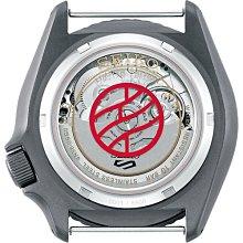 (預購中 12月11陸續出貨)SEIKO 5 X 火影忍者 鹿丸限量聯名機械款4R36(SRPF75K1)灰色