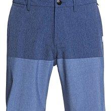 "Quiksilver 20"" 水陸 兩棲 海灘褲 衝浪褲【36腰】Union Division EQYWS03585 藍"