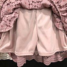 【莉莎小屋】正韓 秋冬新品(現貨-粉色) 💝韓國連線代購-蝴蝶結蕾絲裙褲 JUN👚👖E201027