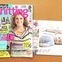 紅柿子【英文彩色版•simply Knitting 編織作品集 ISSUE 109】特售80元•