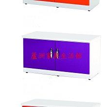 852-05  環保塑鋼座鞋櫃(桔/白)(11色可選)(台北縣市包送到府免運費)【蘆洲家具生活館-10】