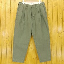 Wtaps BUDS / TROUSERS. COTTON. SATIN 綠 3
