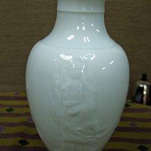 景德鎮大師《周輝明》觀音影青瓷瓶
