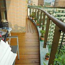 南方松。陽台。庭院。地板 。戶外、防腐、實木 工程