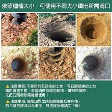 [達利商城] 得世噸 TEXDON 地鑽 鑽頭 100mm 引擎鑽孔機用 鑽尾 鑽土機 挖土鑽頭 挖洞 鑽土鑽尾