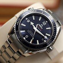 已售出 OMEGA SEAMASTER PLANET OCEAN 600M 鈦海馬 陶瓷錶圈 液態金屬