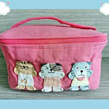 🏆【日本CARA卡拉貓】🏆卡拉貓純棉外出便當盒套袋保鮮盒袋