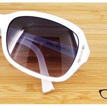 【My Eyes 瞳言瞳語】ALAIN DELON 亞蘭德倫天使白大框太陽眼鏡 純白體驗 海邊必備(AD5189)