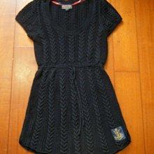 POLO JEANS COMPANY  Ralph Lauren (RL)  短袖 深藍色針織洋裝 [ size: L]