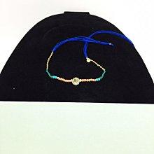 黛買黛購✈️ 法國?? Les Nereides 全新正品 閃亮水鑽 幸運手環 幸運帶 腳環 綁帶 (不需包裝盒可折價100)