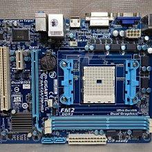 技嘉 GA-F2A75M-HD2 ,, DDR3 /USB3 / FM2腳位 ,, 附後擋板