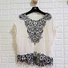 日本貴婦品牌Diagram 36號米白色線衫