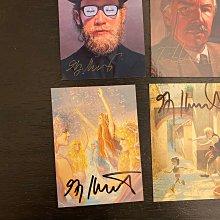 1992 1996 Brothers Hildebrandt(Greg & Tim Hildebrandt)視覺藝術家 親筆簽名 收藏卡 卡片 共6張