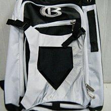 新莊新太陽 Cooperstown Bats CB 酷伯 多功能 棒壘 裝備袋 後背包 黑白 可放球棒 特2300
