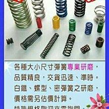 台中綸宏企業- 專業彈簧研磨