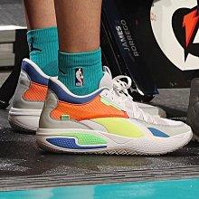 南◇2021 3月 Puma Court Rider LaMelo Ball 白色橘藍色 籃球鞋 球弟195658-01