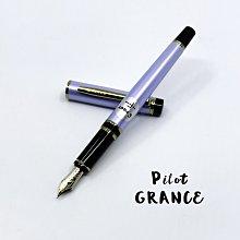 =小品雅集=日本 PILOT 百樂 Grance 14k鋼筆 (珍珠藍)