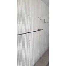 【現貨】日本製PC小圓浪4550冰藍 保固五年 PC板 採光罩 塑鋁板 角浪 玻璃纖維 塑膠浪板 室內隔間 牆壁裝飾板