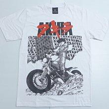 【Mr.17】光明戰士阿基拉 AKIRA 金田正太郎 摩托車 日本動漫 漫畫卡通白色T恤短袖T-SHIRT(KR033)