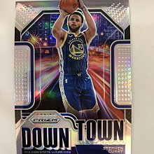 2020-21 Panini Prizm #9 Stephen Curry down town 銀亮