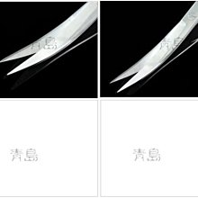 Y 。。。青島水族 。。。F-104(批發價供應)不銹鋼.不鏽鋼水草剪(剪刀)水草夾==鏡面拋光/彎剪25cm