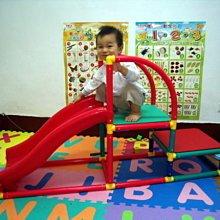 *小踢的家玩具出租*C396   剛滿1歲~GIGO智高單軌道溜滑梯~有攀爬架~預約請先詢問