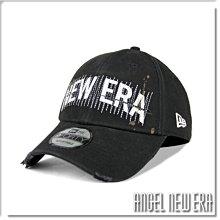 【ANGEL NEW ERA】NEW ERA 街頭款 塗鴉 經典字電繡 老帽 經典黑 9FORTY 潮流