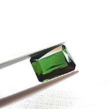 ☆采鑫天然寶石☆~森綠之境~珠寶級 綠碧璽 方型裸石~祖母綠切工~4.51ct~全淨濃彩~