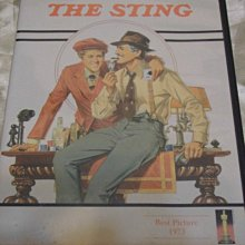 The Sting  刺激1973 (不是刺激1995) 保羅紐曼(江湖浪子 金錢本色) 勞勃瑞福(凡夫俗子 益智遊戲)