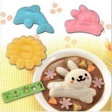 正版日本Arnest 兔子 花 海豚飯模