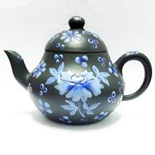 民初紫砂加彩壺