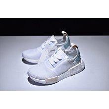 Adidas Originals NMD R1 全白 薄荷綠 湖水綠 蒂芬妮綠 BY3033 百搭 休閒情侶慢跑鞋