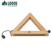 日本LOGOS│81280006 LOGOS 竹製三角鍋墊│鍋架 │大營家露營登山休閒