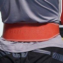 搏爾得 Boulder 選用頭層牛皮 雙排扣設計 加厚海棉 護腰/舉重/深蹲/硬舉/健身/重量訓練/硬拉/硬舉(11公分
